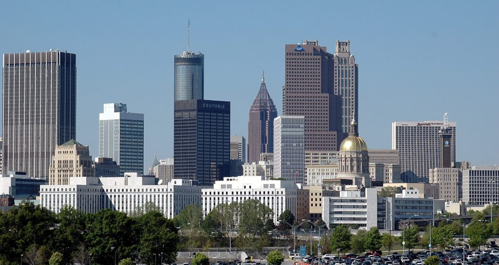 Atlanta, Georgia Cityscape. Photo by Paul Brennan.